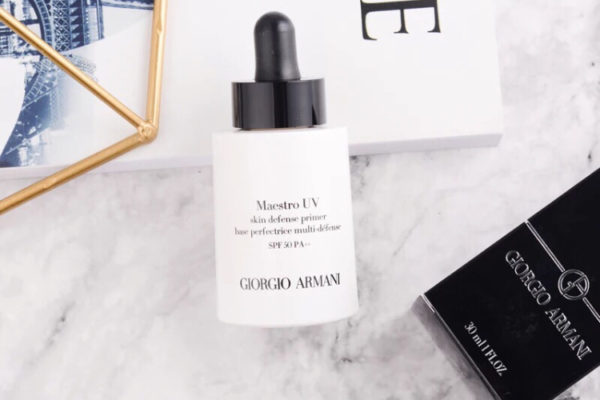 Armani maestro UV MAKEUP PRIMER 2018 review