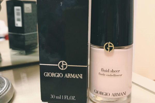 Giorgio Armani Fluid Sheer 2018 review
