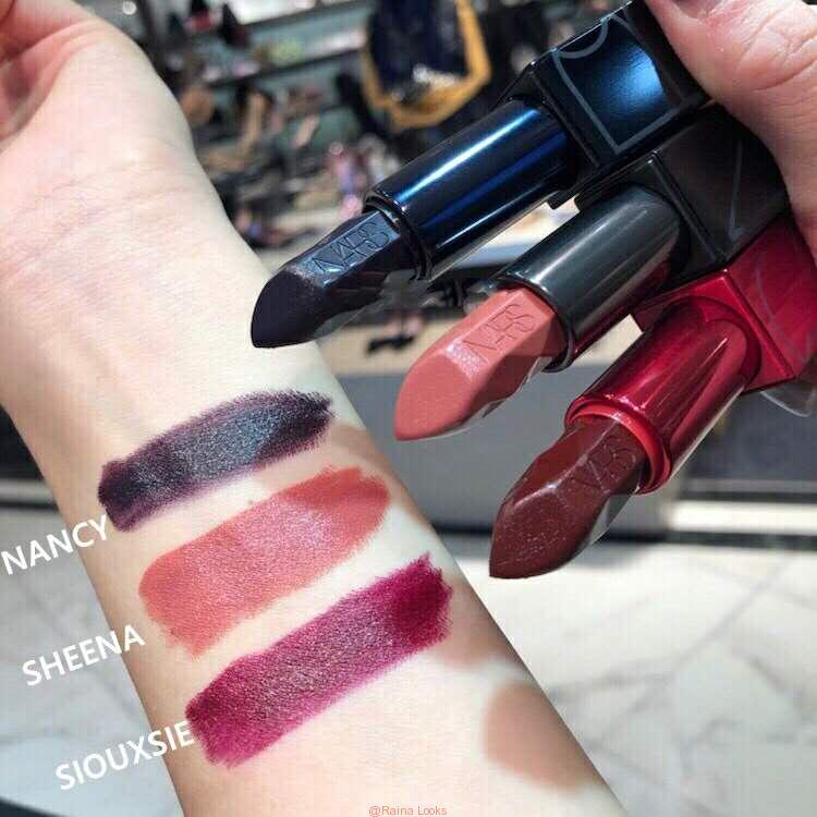 微信图片 20181021215037 - There are something about color test of Nars 2018 latest Christmas limited lipstick