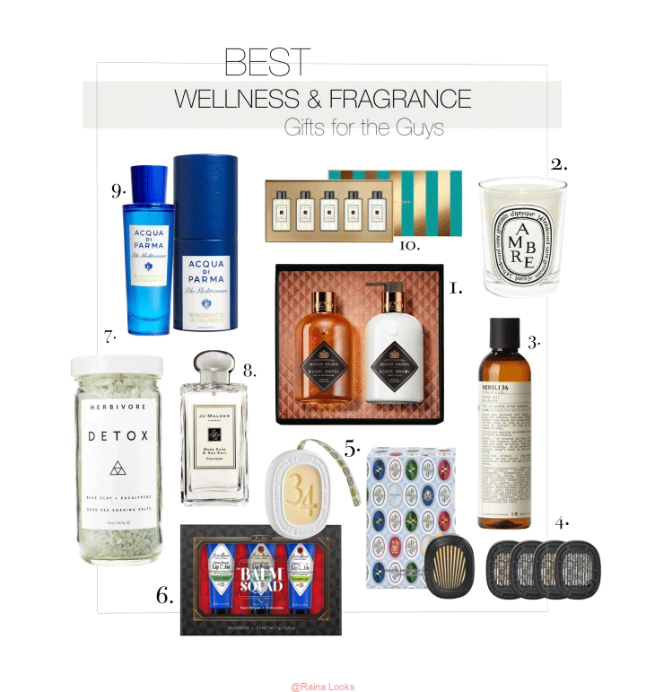 WELLNESS FRAGRANCE GIFT GUIDE 2021 FOR THE GUYS - The Best Wellness and Fragrance Gifts to Give in 2021 (for the Guys)