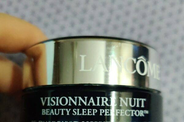 Lancome Visionnaire Nuit Beauty Sleep Perfector Face Moisturizer Review