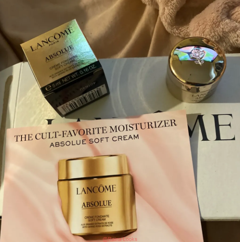 3 3 - Lancome Absolue Revitalizing & Brightening Soft Cream Review