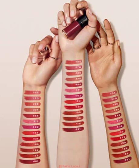 LABSOLU ROUGE DRAMA INK LIQUID LIPSTICK1 - Lancome L'Absolu Rouge Drama Ink Liquid Lipstick Review