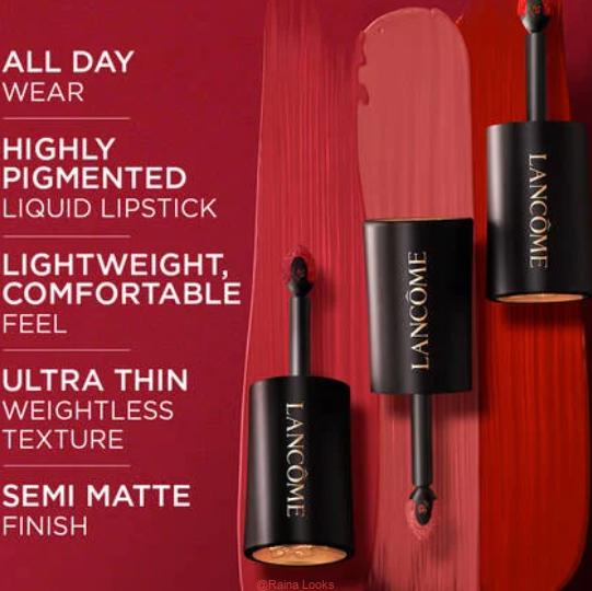 LABSOLU ROUGE DRAMA INK LIQUID LIPSTICK3 - Lancome L'Absolu Rouge Drama Ink Liquid Lipstick Review